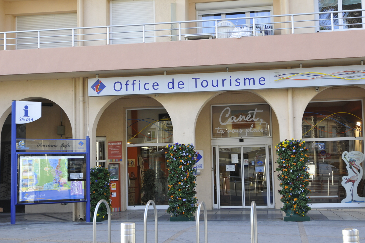 Canet en roussillon canet useful information links and - Allegre les fumades office de tourisme ...